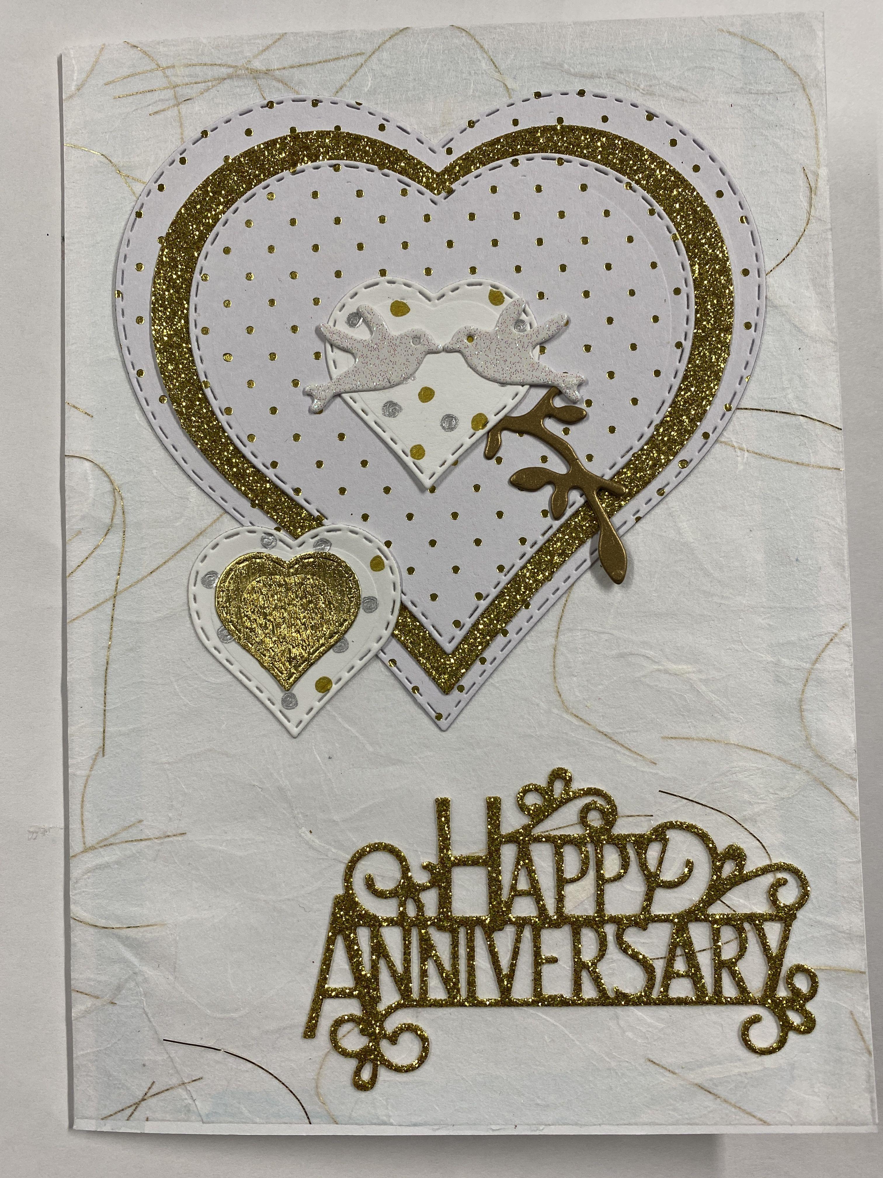 Wedding Anniversary Cards Handmade Hands On Africa You Choose Design Ebay Wedding Anniversary Cards Anniversary Cards Cards Handmade