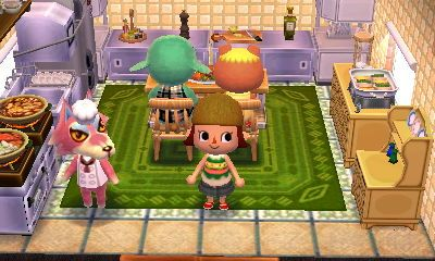 """animal crossing: happy home designer- freya- """"home for a chef"""