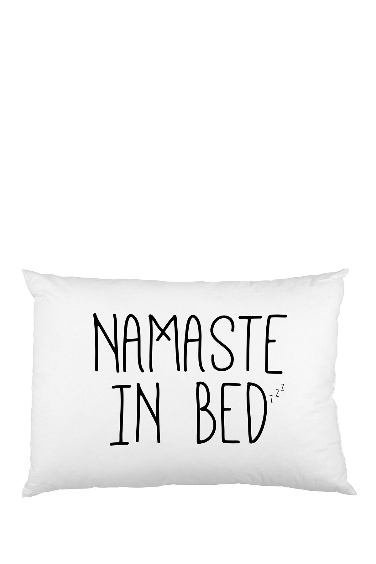 Sounds about right lol love this cute namaste in bed pillow case