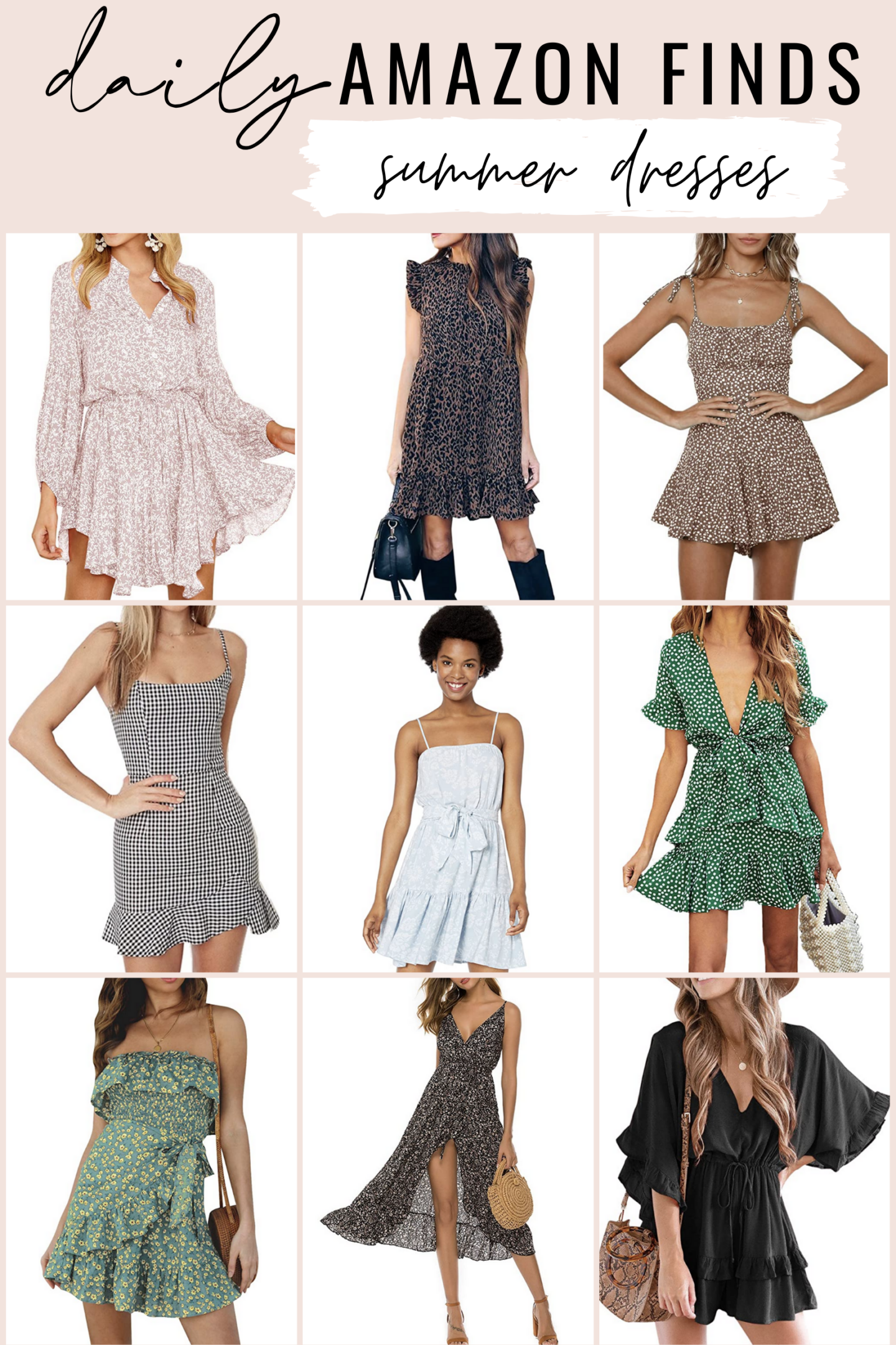 Daily Amazon Finds 5 24 20 Amazon Summer Dresses In 2020 Summer Dresses Dresses Cute Dresses