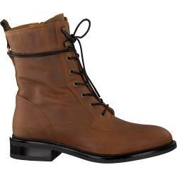 Photo of Omoda lace-up boots 16858 cognac women Omoda