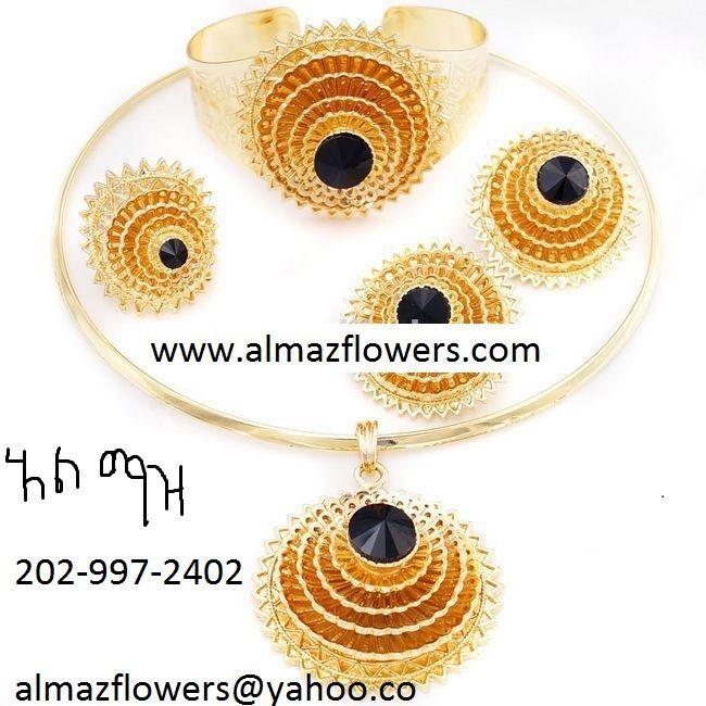 EritreanEthiopian wedding gold jewelry Habesha Pinterest