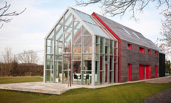 Sliding house in Suffolk UK. #architecture via ...