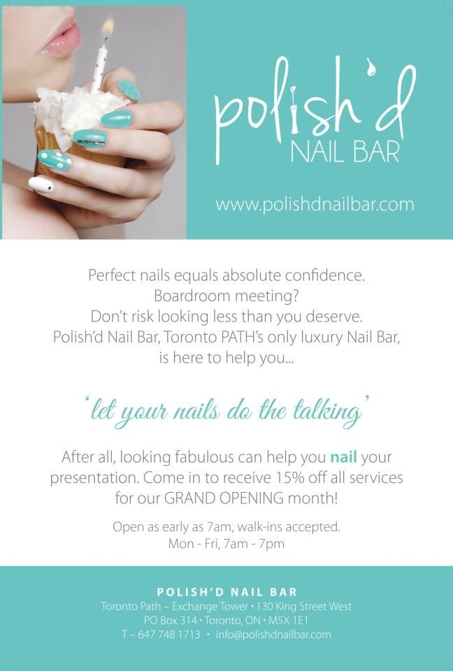 Discover ideas about Garden State Plaza. GET YOUR FREE MANICURE ...