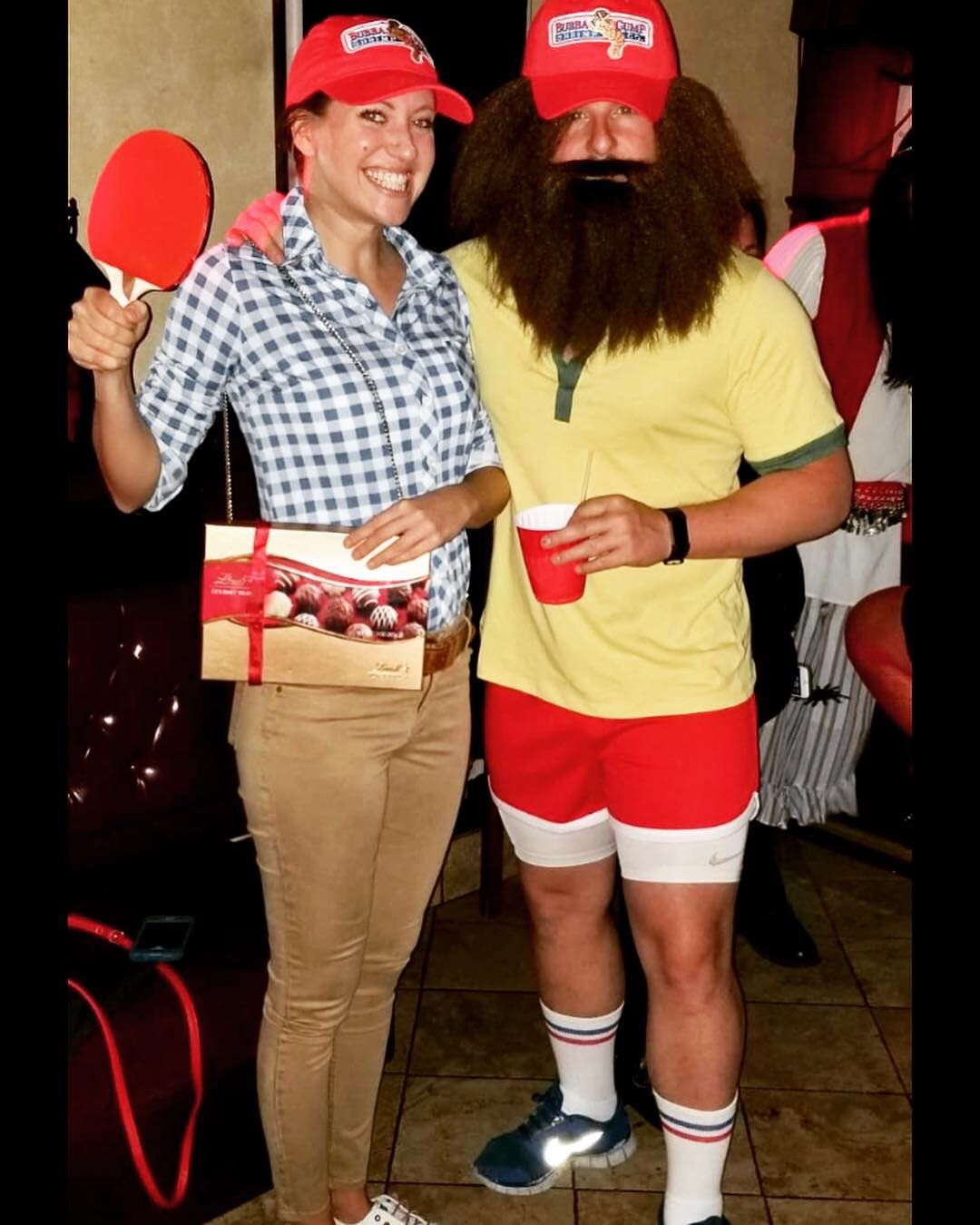 Couple costume Forrest Gump! Halloween costumes