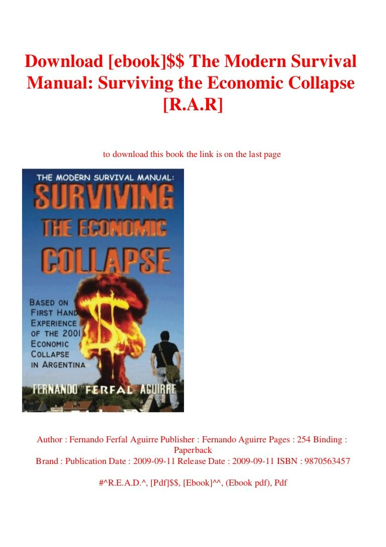 Download Ebook The Modern Survival Manual Surviving The