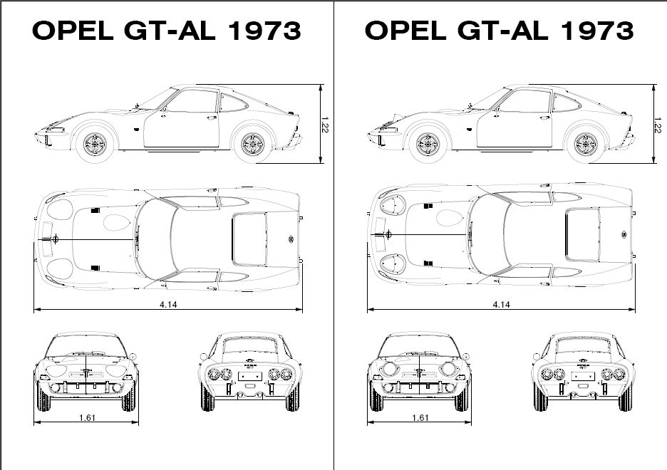 diagram size opel gt technical drawing opel gt 1900 pinterest 1970 opel gt door diagram size opel gt