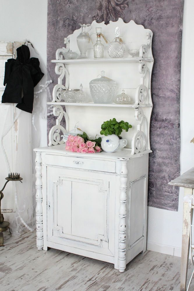 shabby antikes k chenbuffet buffet buffetschrank. Black Bedroom Furniture Sets. Home Design Ideas