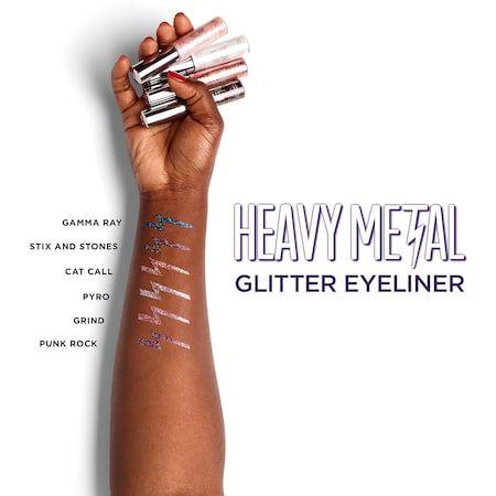 Heavy Metal Glitter Eyeliner - Urban Decay | Sephora #glittereyeliner
