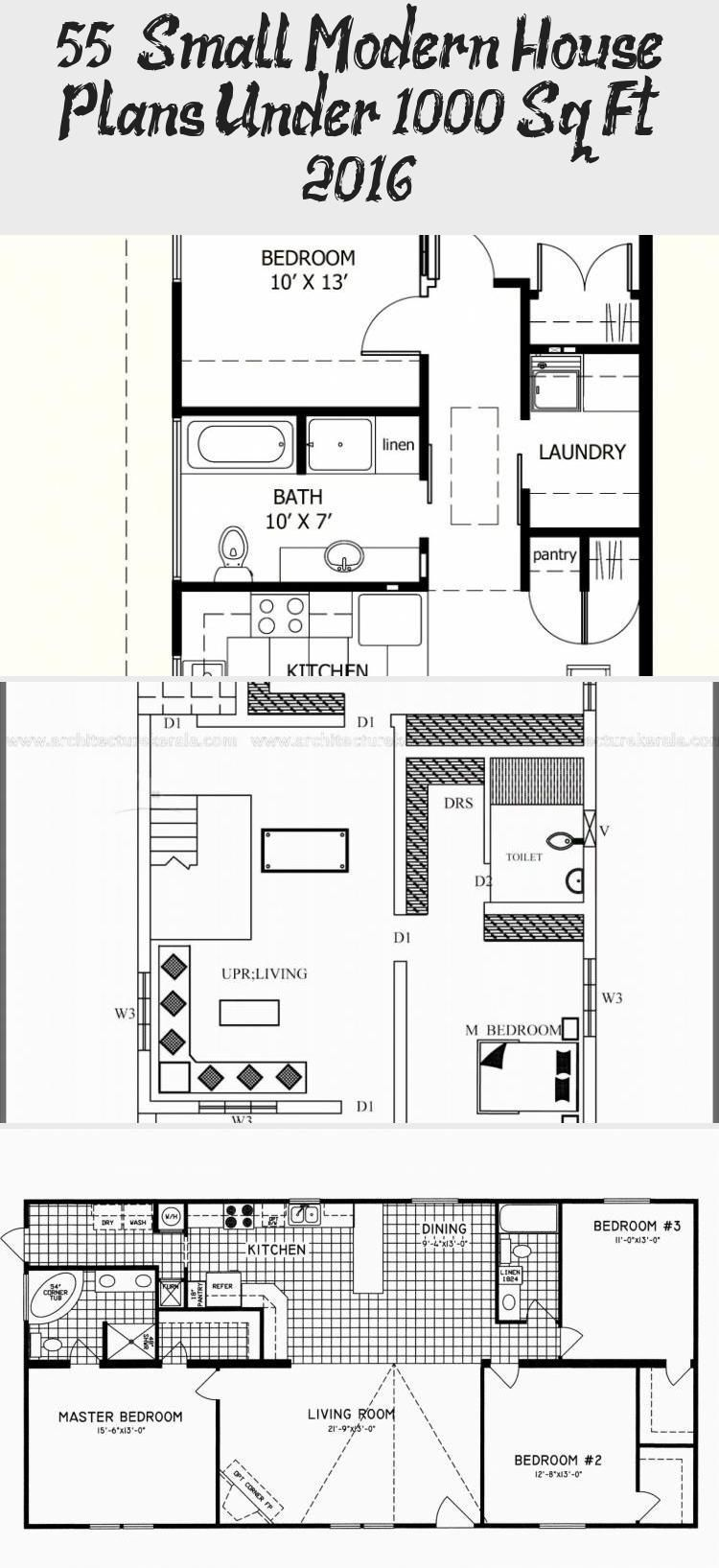 50 Small Modern House Plans Under 1000 Sq Ft 2019 Modernhousesketchpencil Mode 50 Small Mod Small Modern House Plans Small Modern Home Modern House Plans
