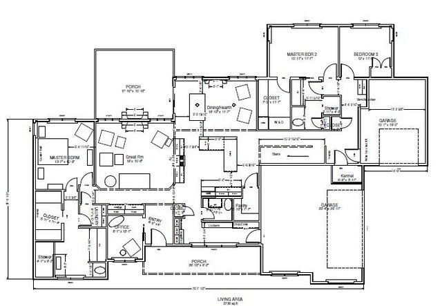 Nice Multi Generational House Plan   Building A Home Forum   GardenWeb