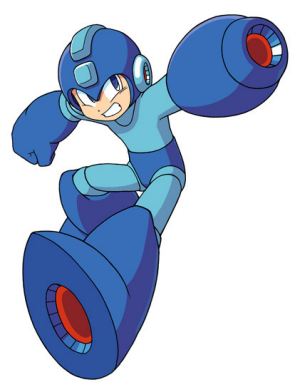 I Don T Think I Ve Ever Seen Such A Glossy Mega Man Mega Man Mega Man Art Man Character