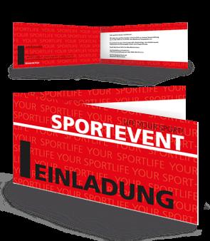 gestalten sie ihre individuelle einladungen für sportevents bei, Einladungen