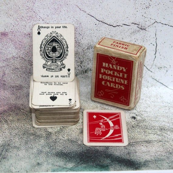 Photo of ポケット占います。 1930年代のミニ占います。 トムソン-備考. 占います。 Romany占い. Oracle. 占