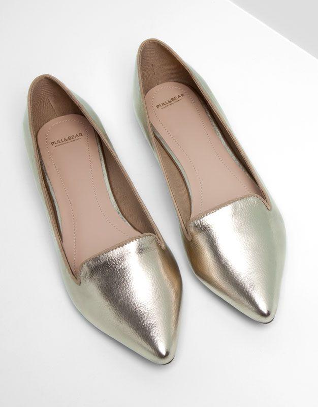 Women S Flat Shoes Pull Bear Turkey
