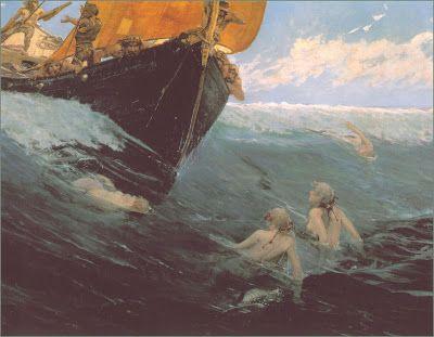 Edward Matthew Hale, Mermaids' Rock