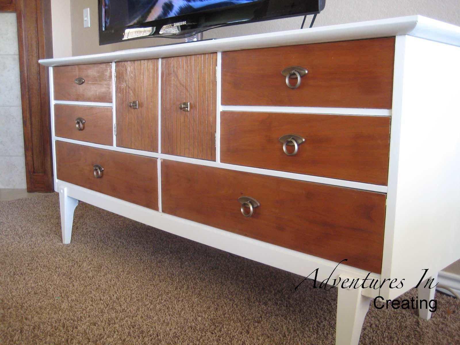 La Credenza Muebles : Credenza #wood #stain #furniture #diy hobby pinterest muebles