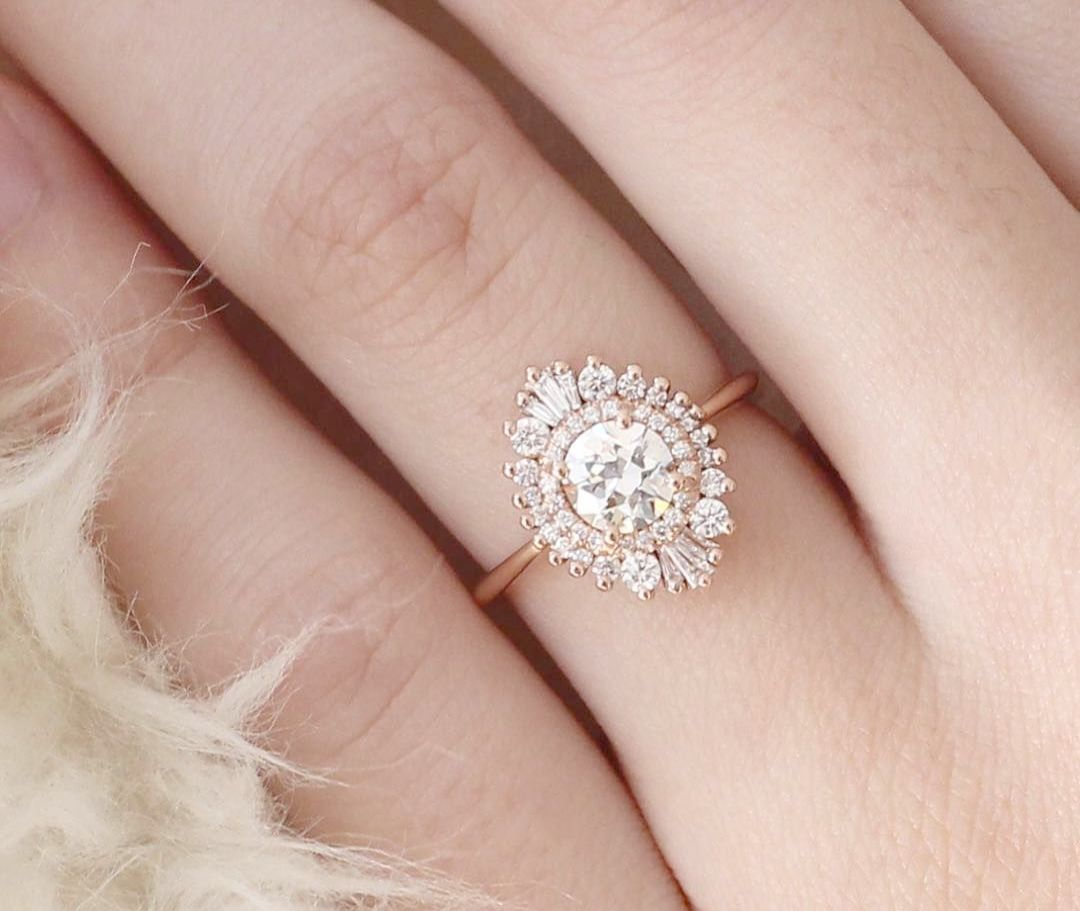 Elegant Engagement Rings For Couples Vintage Engagement Rings ...