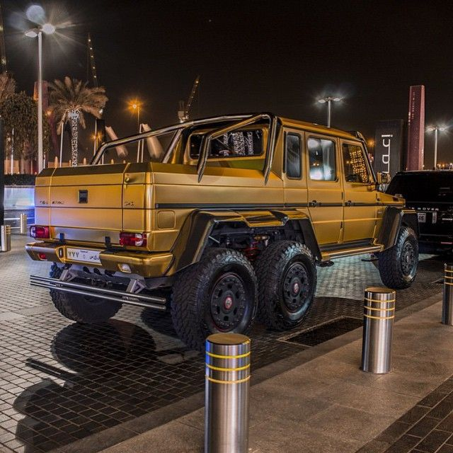 Mercedes Brabus G Wagon 6x6 With Images Mercedes Benz Suv G