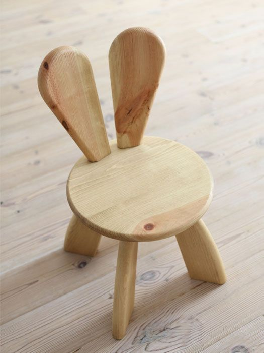 How Sweet Is This Kid Sized Rabbit Chair? Available In An Array Of Colours