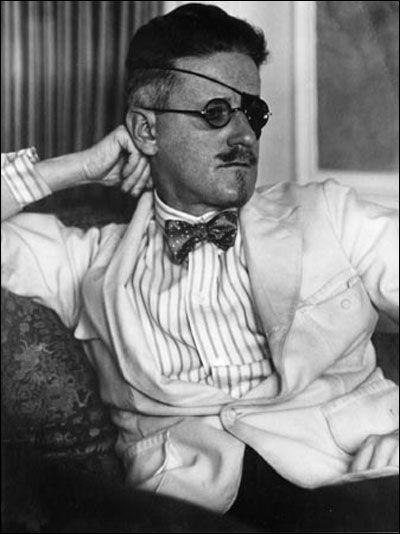 Eyepatch fashion: James Joyce