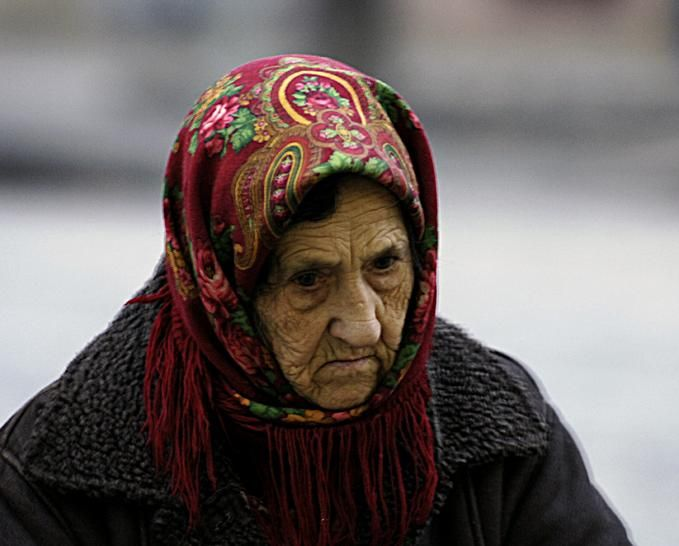 Old Russian Lady