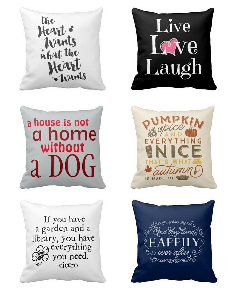 Beautiful Throw Pillows With Quotes And Sayings Throw Pillows