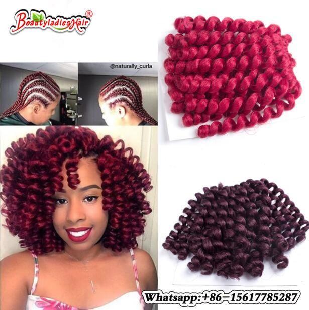 10 Inch Wand Curl Crochet Braiding Afro Kinky Twist Hair Bounce Wand