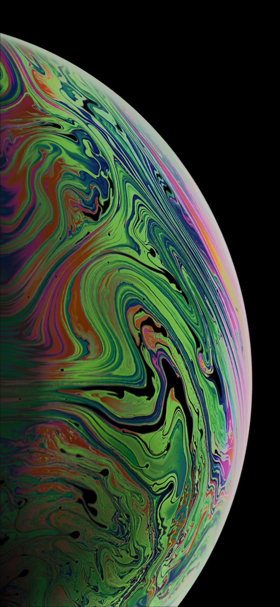 Download the 3 iPhone XS Max Wallpapers of Bubbles