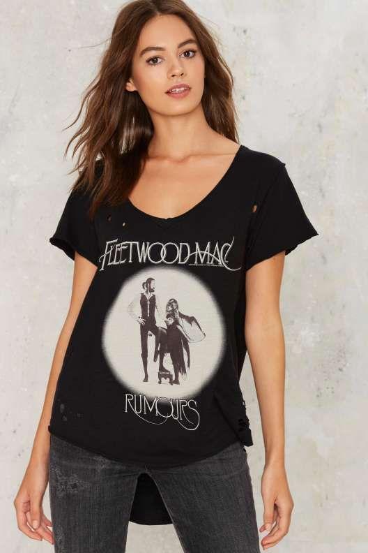 Fleetwood Mac Lady/'s Tee Woman Shirt Lady Shirt Woman Top