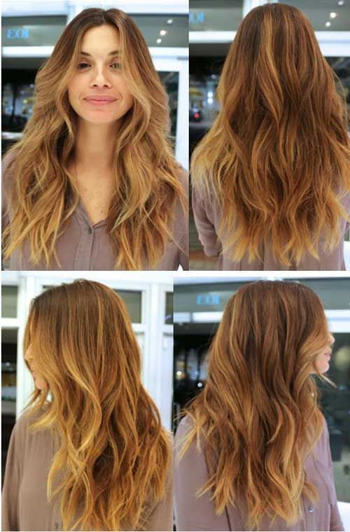 Long Wavy Hairstyles Mesmerizing 40 Best Long Wavy Haircuts  Long Hairstyles 2015 & Long Haircuts