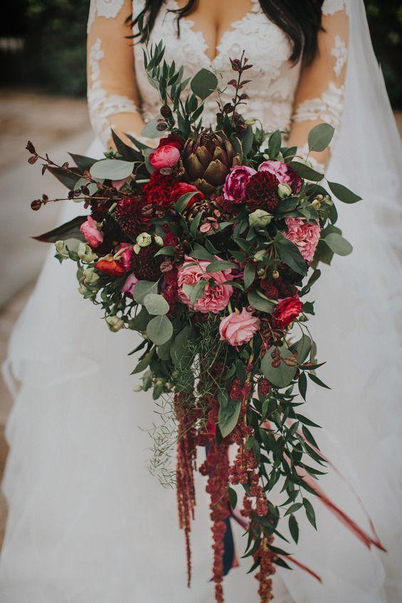 54 Cascade Hochzeitssträuße für charmante Bräute   - Wedding - #fallbridalbouquets