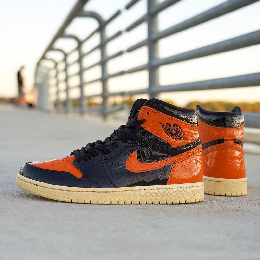 One Of The Better Looks At The Air Jordan 1 Shattered Backboard
