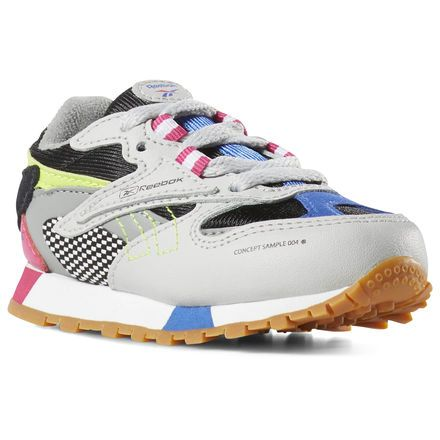 82f66a4ecf2 Reebok Shoes Unisex Classic Leather ATI 90s in Multicolor Size 2 - Retro  Running Shoes