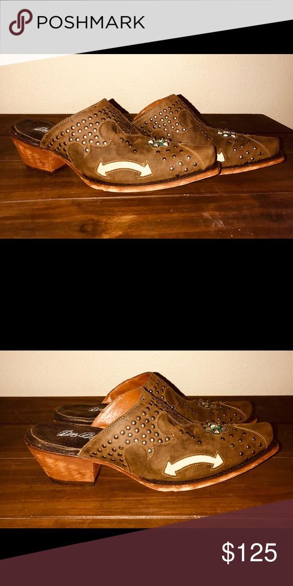 bdfc6fcd92e Dan Post women's Boots size 9 New in box Dan Post brown studded ...