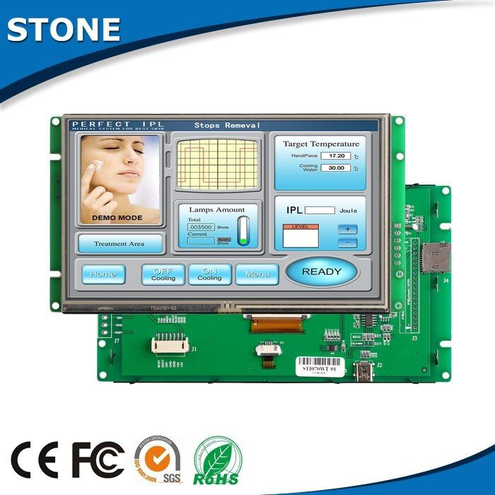 4.3 TFT LCD Touch Panel Monitor With TTL Port #touchpanel