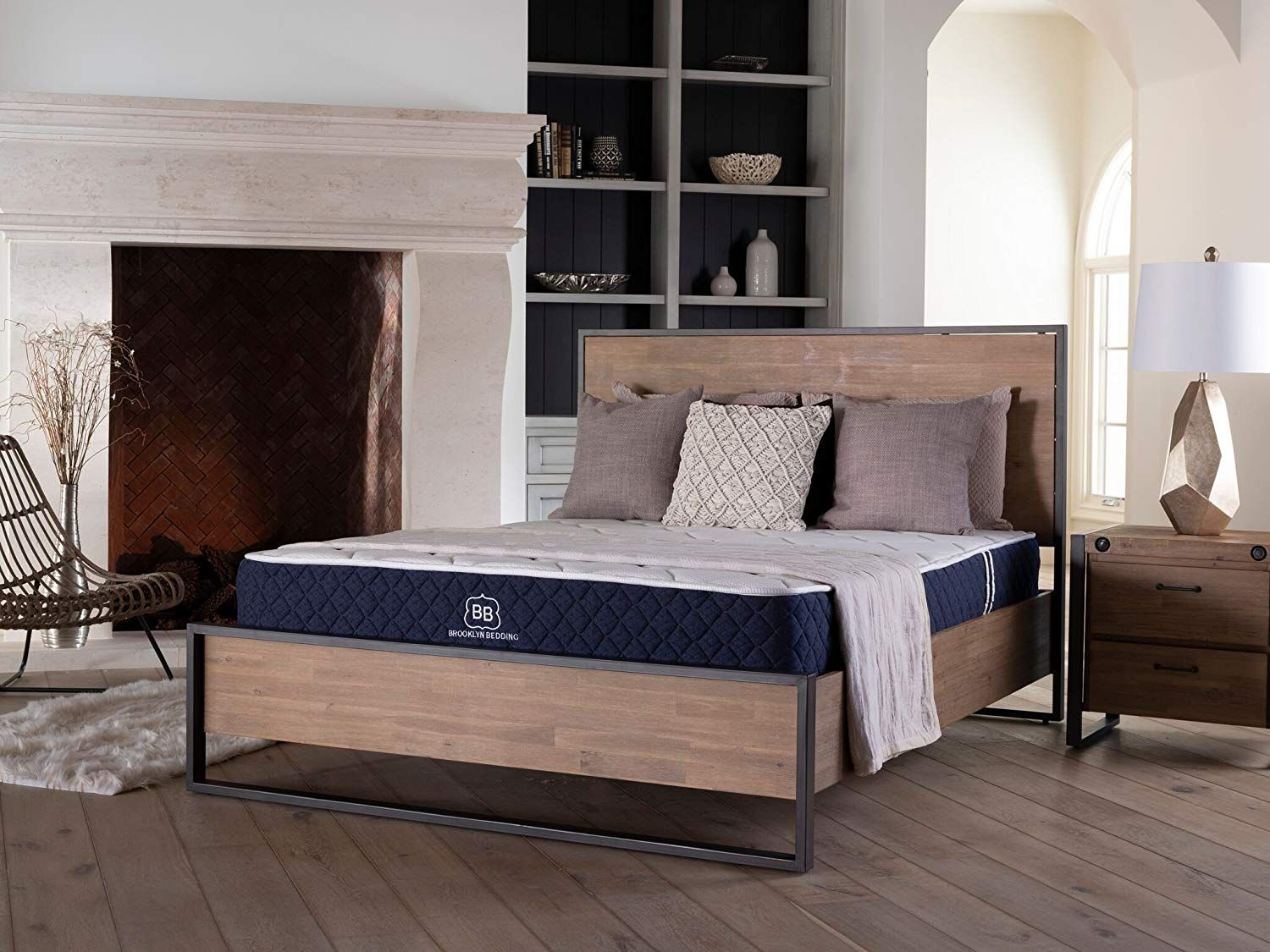 The Brooklyn Signature Hybrid Mattress Consists Of 6 Individually Pocketed Ascension Coils With 2 Of A Transitional Energex Foam For Best Mattress Mattress Lull Mattress