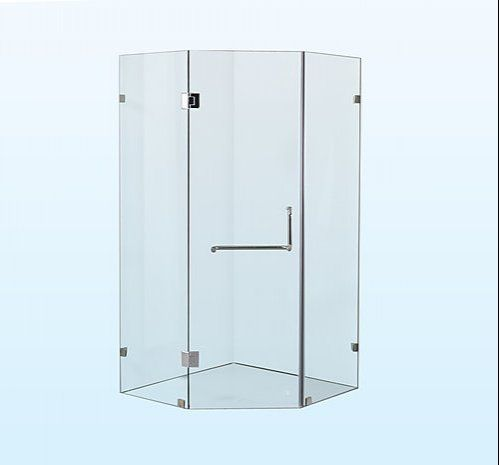 900 X 900mm Frameless 10mm Glass Shower Screen By Della Francesca Shower Screen Glass Shower Corner Shower