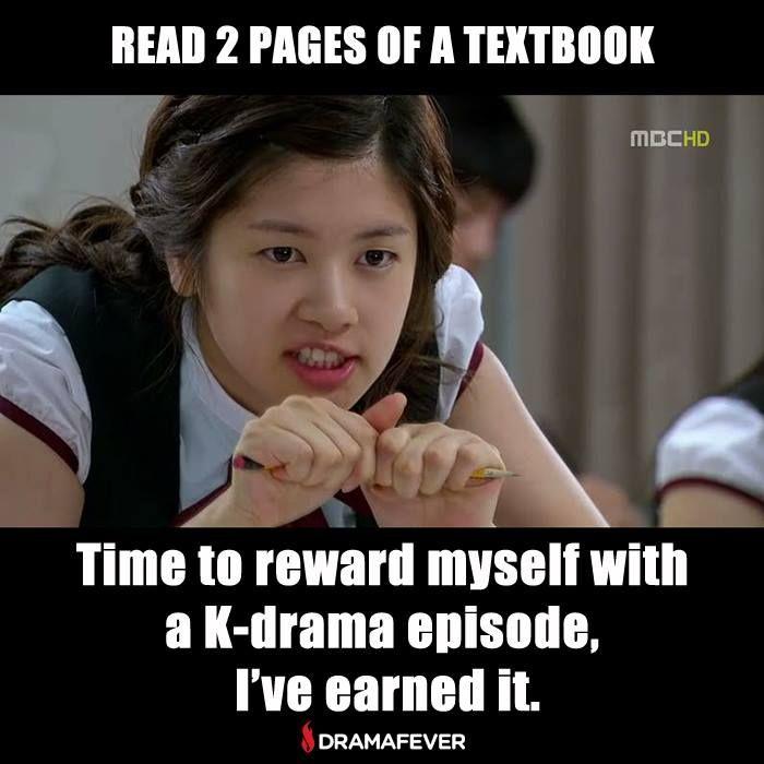 School Work Or Kdrama Haha Drama Memes Kdrama Memes Drama Funny