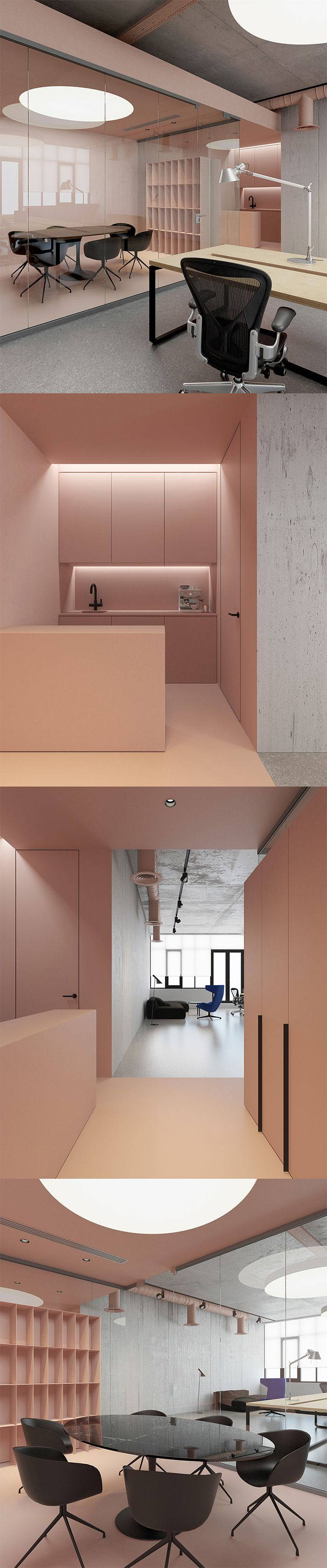 Creative partition ideas courtesy interior architect mohamed amer - Office P Kiev Ukraine