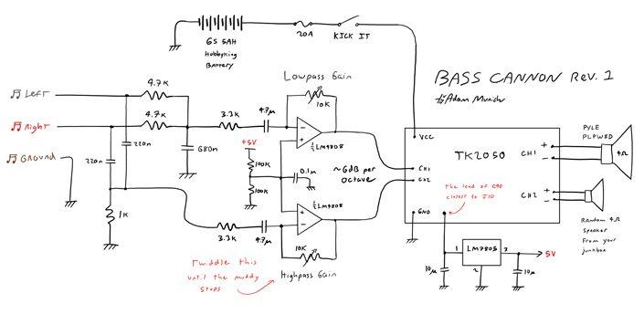 Fire The Bass Cannon Single Line Diagram Line Diagram Ladder Logic