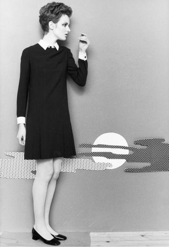 Grace Coddington, photo F C Gundlach 1967