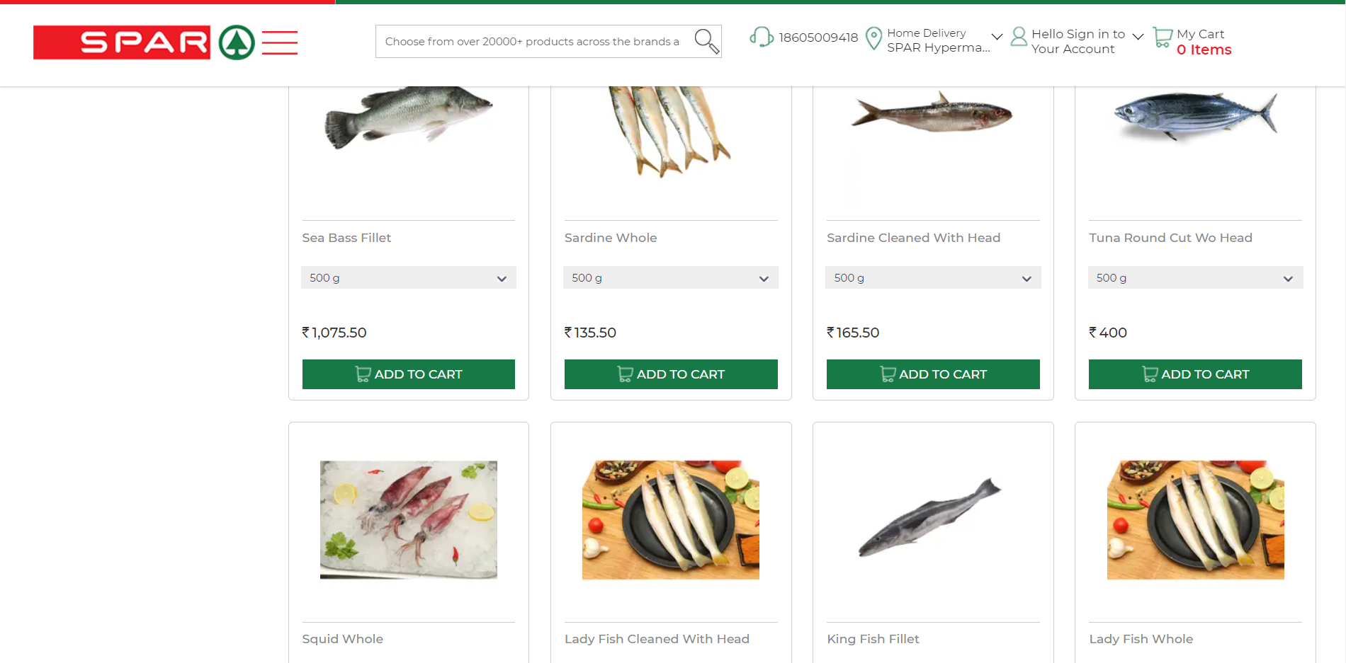 Buy Fish Online India In 2020 Seafood Online Buy Fish Online Grocery Shopping Delivery