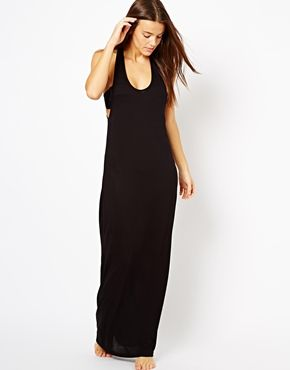 a36b26eca5 Beach Attire · black maxi dress