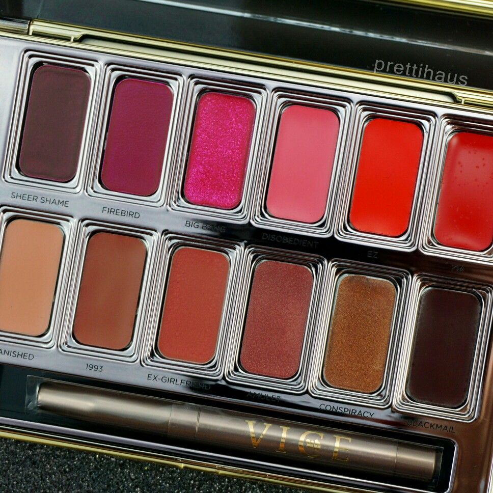 Urban Decay Blackmail Vice Lipstick Palette, a limited edition Ulta Beauty exclusive.