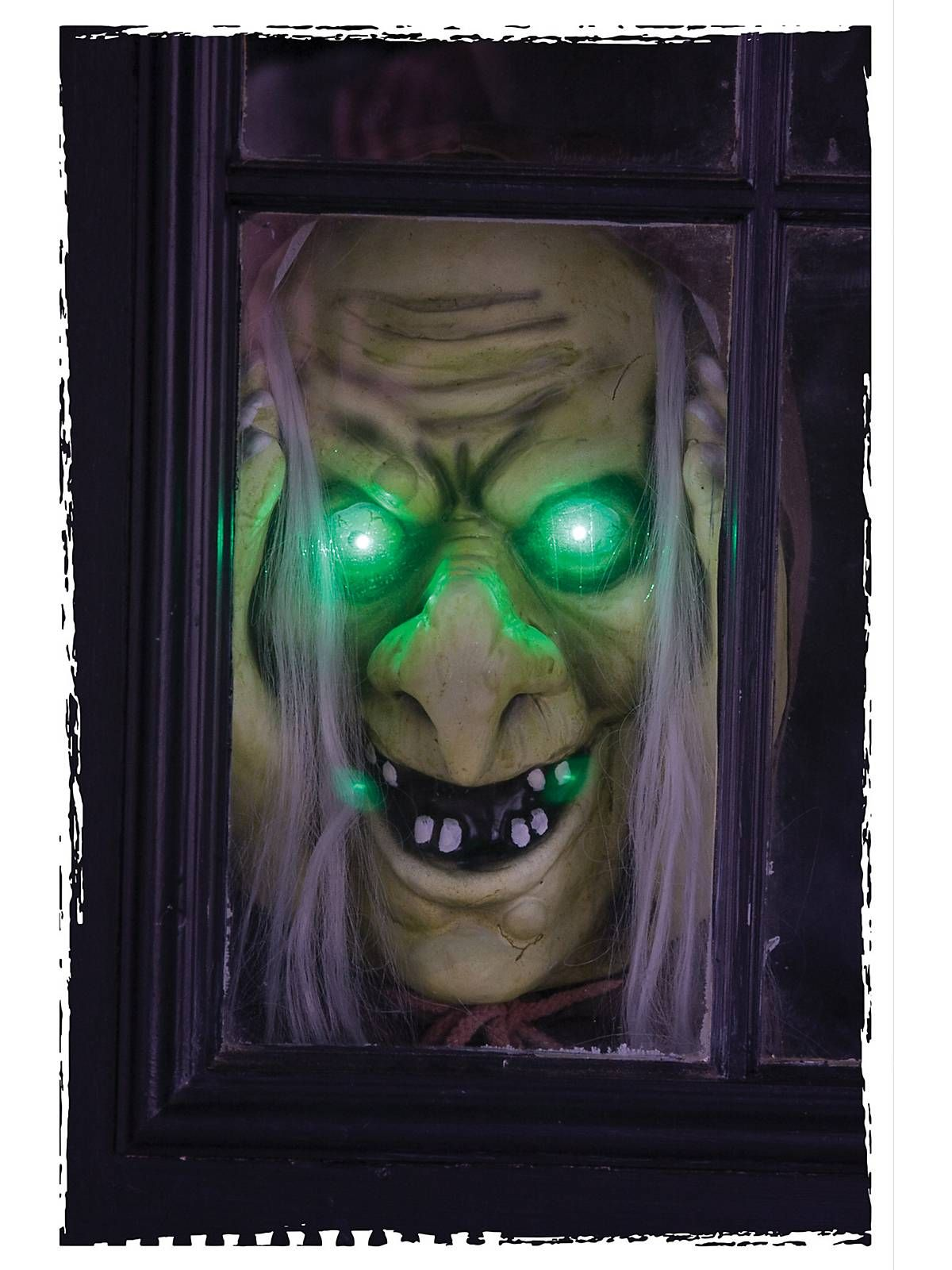peekaboo witch prop zombie props and decorations at frightcatalogcom - Fright Catalog Halloween Decorations