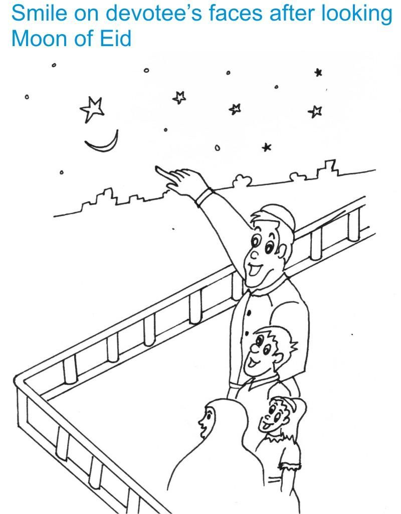 Eid al fitr coloring sheets google search