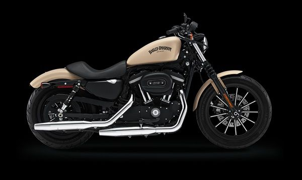 Something New Something Beautiful Something Too Comes From Harley Davidson Company It Is A Harley Davidson Iron 883 Harley Davidson Sportster Sportster Iron
