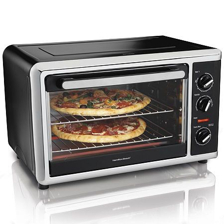 Hamilton Beach Countertop Oven With Convection Oven Rotisserie
