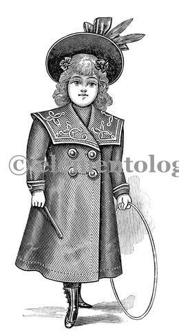 Victorian Image No. 1544 , Printable Digital Image File - elementologie, Vintage Market And Design